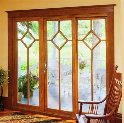 all wood sliding patio doors interior home decor