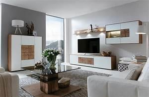 Moderne Wohnzimmer Schrankwand : interessante ideen f r moderne schrankw nde im wohnzimmer ideen top ~ Markanthonyermac.com Haus und Dekorationen