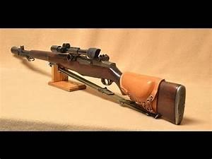 Springfield Armory M1D Garand Sniper - YouTube
