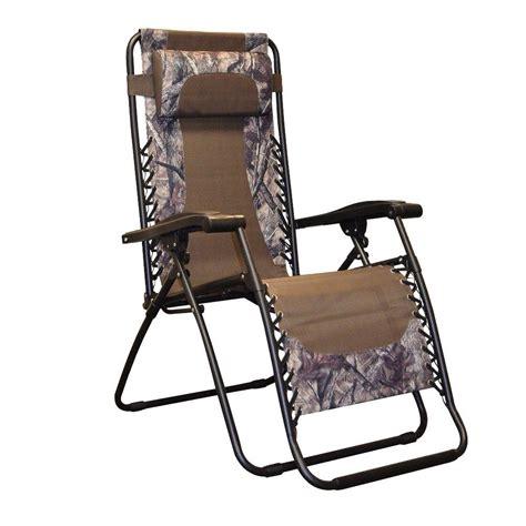 caravan sports infinity camo zero gravity patio chair