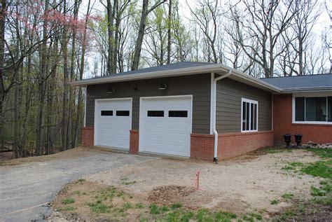 adding onto existing garage triangle garage addition jabs construction