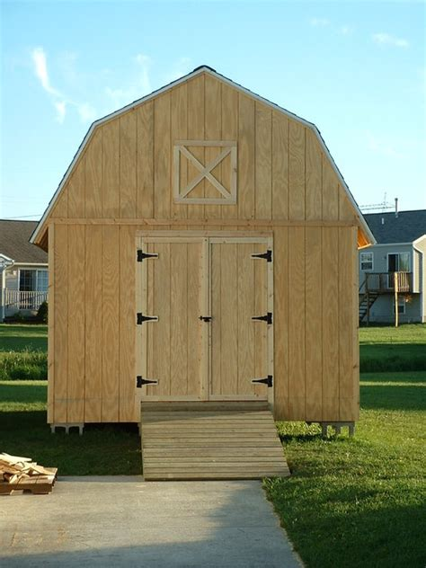 12x16 barn style storage shed 2006 by matr