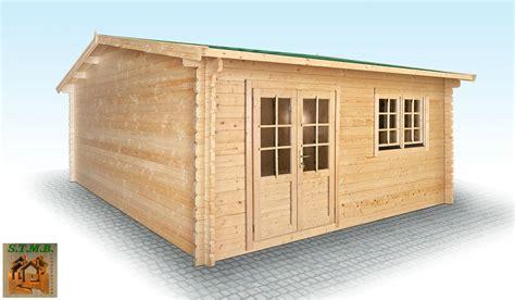 maison toit plat prix au m2 12 chalet en bois en kit mod232le hiba 25 m2 en madriers de 44 mm
