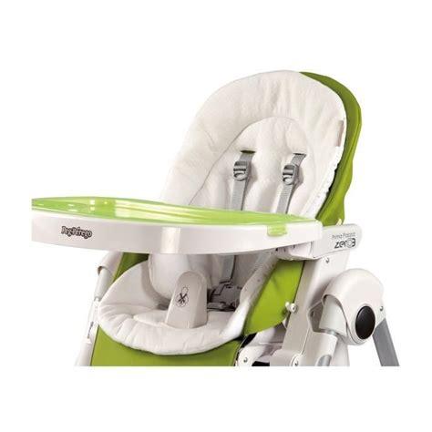 peg perego coussin r 233 ducteur chaise haute coloris blanc achat vente chaise haute