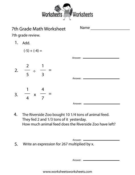17 Best Images Of 7th Grade Homework Worksheets  7th Grade Math Worksheets Printable, 8th Grade