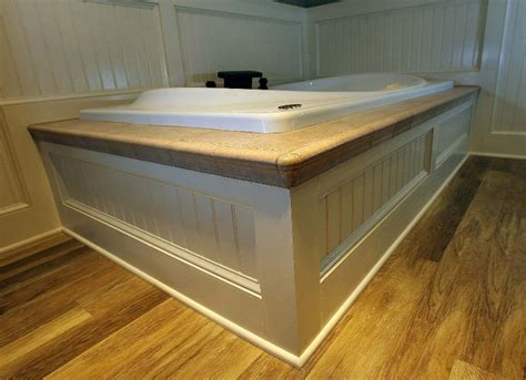 Custom Carpentry Tub Surround & Beadboard  Renovisions Inc