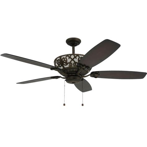 troposair excalibur 60 in rubbed bronze uplight ceiling
