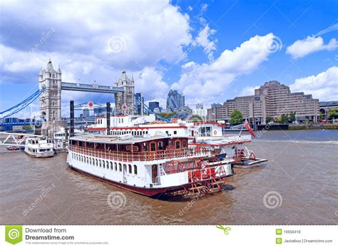 Boat Ride In London by London River Boat Ride Royalty Free Stock Photos Image