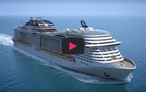 Take a tour of MSC Cruises? new MSC Meraviglia   Travelweek