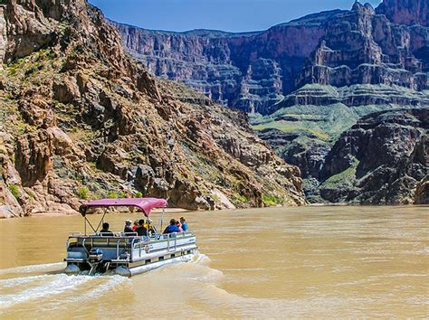 Grand Canyon Pontoon Boat Tours by Grand Canyon West Rim Bus Heli Boat From Vegas