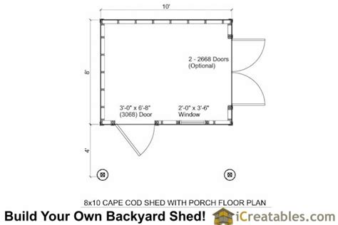 10x12 shed plans with porch cape cod shed new