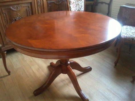 achetez table ronde rallonge occasion annonce vente 224 m 233 rignac 33 wb149126010