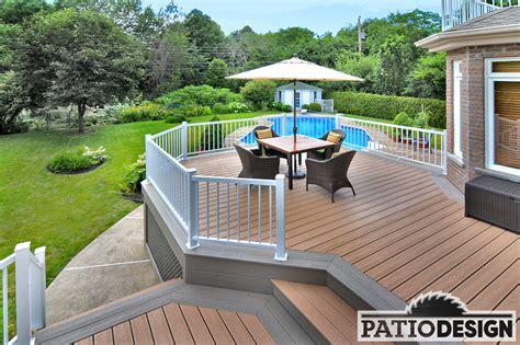 mat 233 riaux utilis 233 s pour la conception de patios chez patio design inc