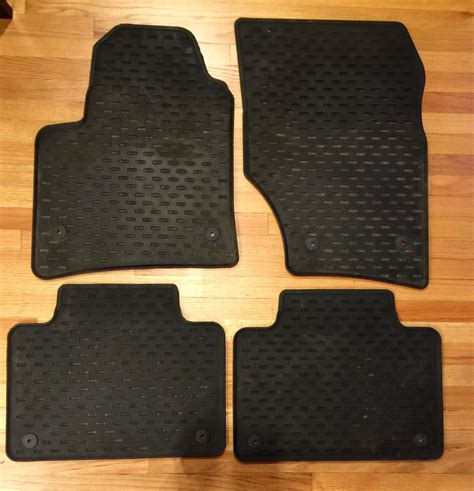 fs oem porsche cayenne rubber floor mats rennlist