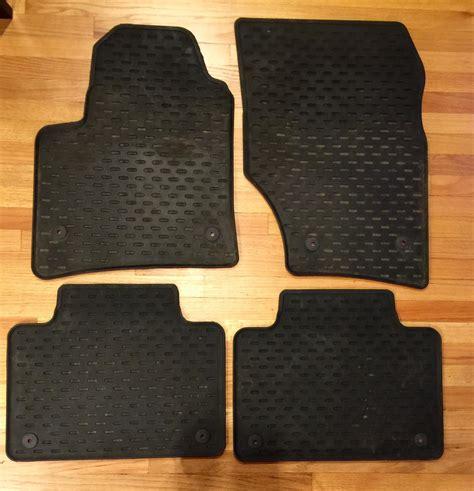fs oem porsche cayenne rubber floor mats rennlist discussion forums