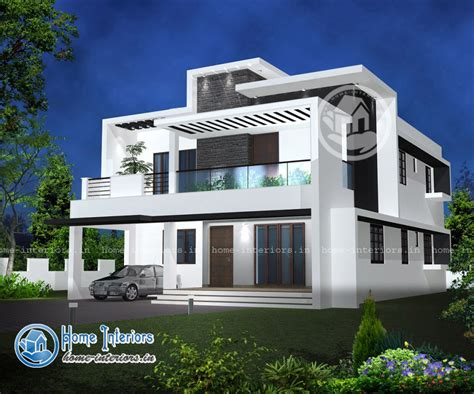 Double Floor Modern Style Home Design 2015