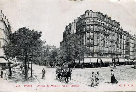 file ca 1900 rue de l arivee avenue du maine montparnasse jpg wikimedia commons