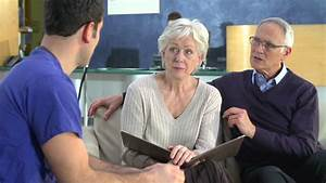Surgeon Discusses Patient Record Stock Footage Video ...