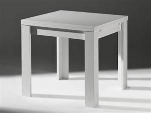 Küchentisch 120 X 80 : k chentisch ausziehtisch wei matt 80x60cm m bel m bel tische b nke st hle ~ Markanthonyermac.com Haus und Dekorationen