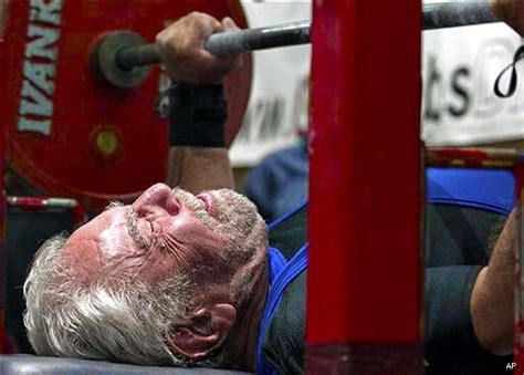 187pound Bench Press By 91yearold Man Breaks World Record