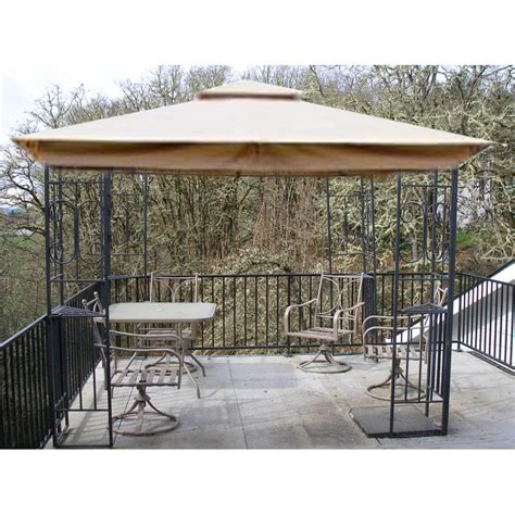 fred meyer 10 x 10 scroll design replacement canopy garden winds