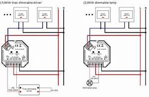 Led Dimmer Anschließen : 1 kanal funk led dimmer 230v ac 1x 400w f r rf mehrzonen sender sr 1009sac hp ebay ~ Markanthonyermac.com Haus und Dekorationen