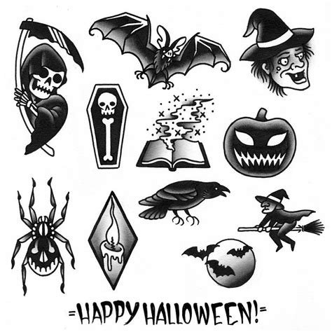 29+ Best Halloween Tattoo Designs And Ideas