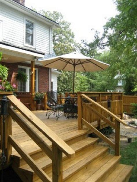 deck stair design ideas for beginners retrointeriordesign