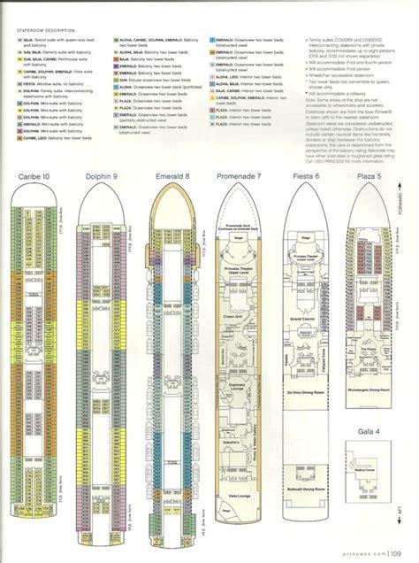 grand princess deck plan