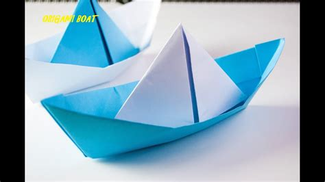 Origami Boat Video by How To Make Origami Boat Japanese Origami Tutorial Video