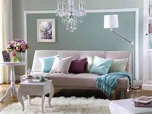 Wohnzimmer Gestalten Grau : wunderbare wandgestaltung im wohnzimmer ~ Markanthonyermac.com Haus und Dekorationen