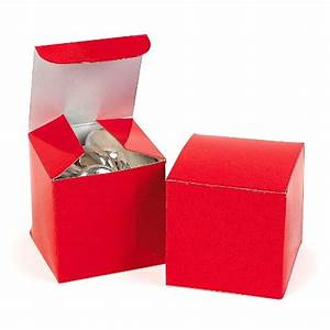 12 MINI RED GIFT BOXES For Small Gifts, Party Favors ...