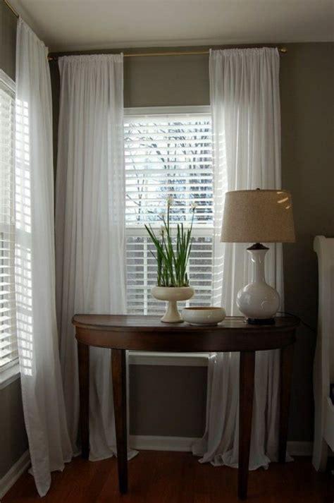 1000 id 233 es sur le th 232 me voilage blanc sur voilages rideaux gris et rideau