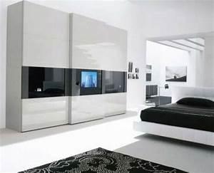 Kleiderschrank Mit Platz Für Fernseher : ein moderner kleiderschrank in ihrem schlafzimmer 15 tolle ideen ~ Markanthonyermac.com Haus und Dekorationen