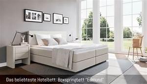Boxspringbetten 160x200 Günstig : hotelbett g nstig online kaufen boxspring welt ~ Markanthonyermac.com Haus und Dekorationen