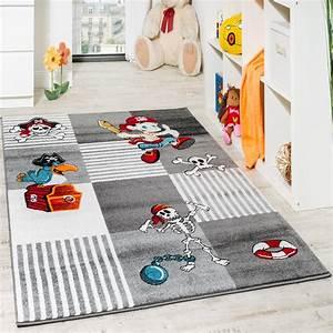 Teppich Kinderzimmer Grau : kinder teppich pirat grau kinder teppiche ~ Markanthonyermac.com Haus und Dekorationen