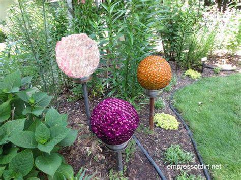 Make These Whimsical Garden Spheres For Under $
