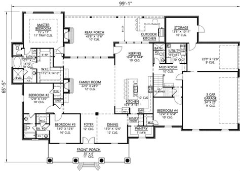 david weekley 1 story house plans free home design
