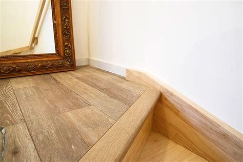 pose d un parquet contre coll 233 sur escalier caresol