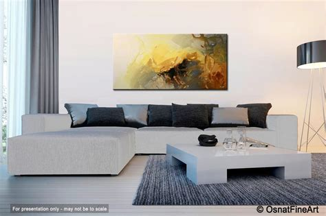 Modern Living Room Paintings : Modern Abstract Living Room Decor Soft #5356