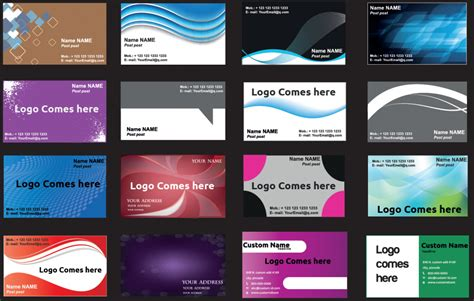 Business Card Template Pdf 100 Business Card Templates