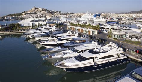 Boat Slip In Spanish by Marina Ibiza A Beautiful Ibiza Yacht Charter Destination