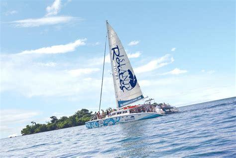Catamaran Tour Jamaica Negril by Catamaran Cruise In Negril Island Routes