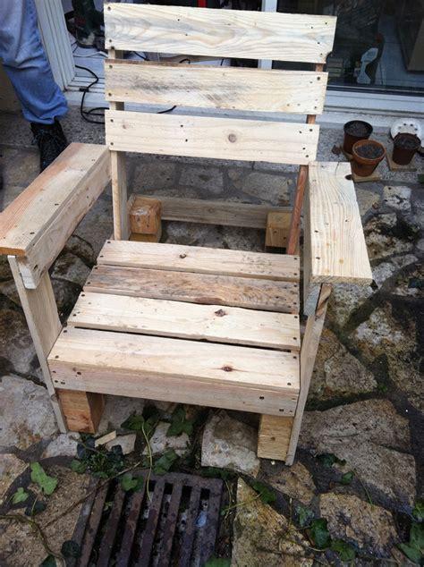 comment fabriquer une chaise en bois sedgu