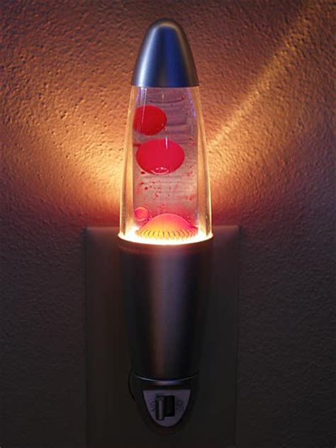 Lava Lamp Night Light  The Green Head