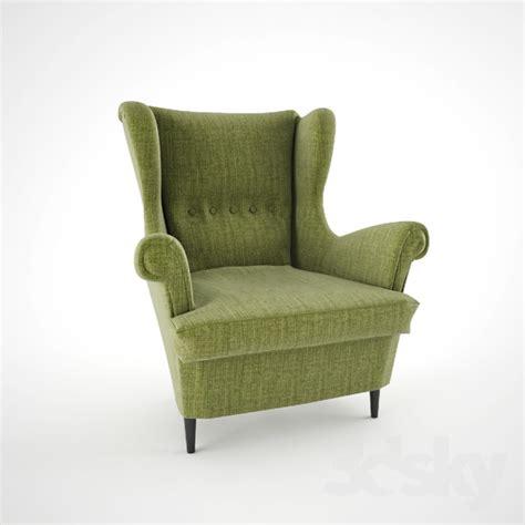 3d models arm chair strandmon