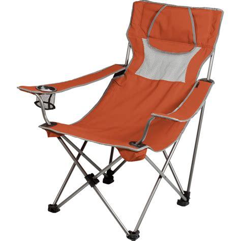 picnic time csite chair burnt orange gray 806 00 103 000 0