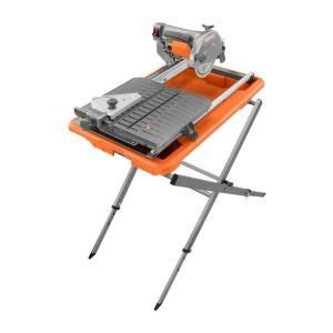7 in tile saw with stand