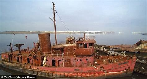 Boats And Harbors Online by Drone Footage Shows New York City S Forgotten Arthur Kill