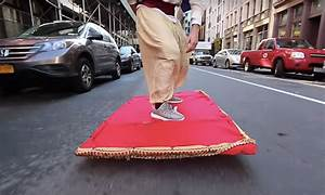 Aladdin in Real Life: Watch This Epic Magic Carpet Ride ...